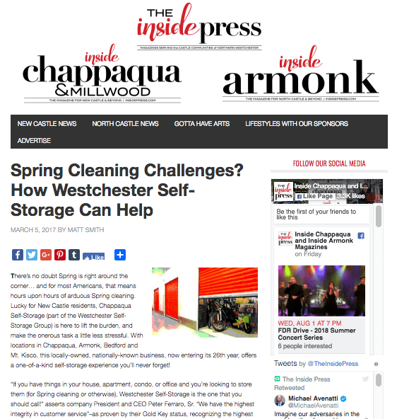 Spring Cleaning Challenges