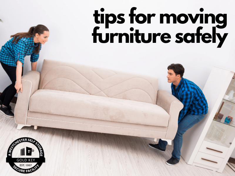 tips for moving furniture Mahopac Self Storage
